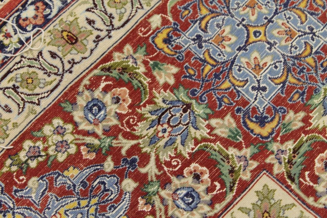 Persian ISFAHAN High-End Wool & Silk Traditional 5' x - 7