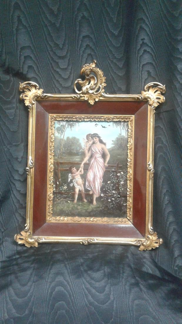 Wooden Painting of women - 4