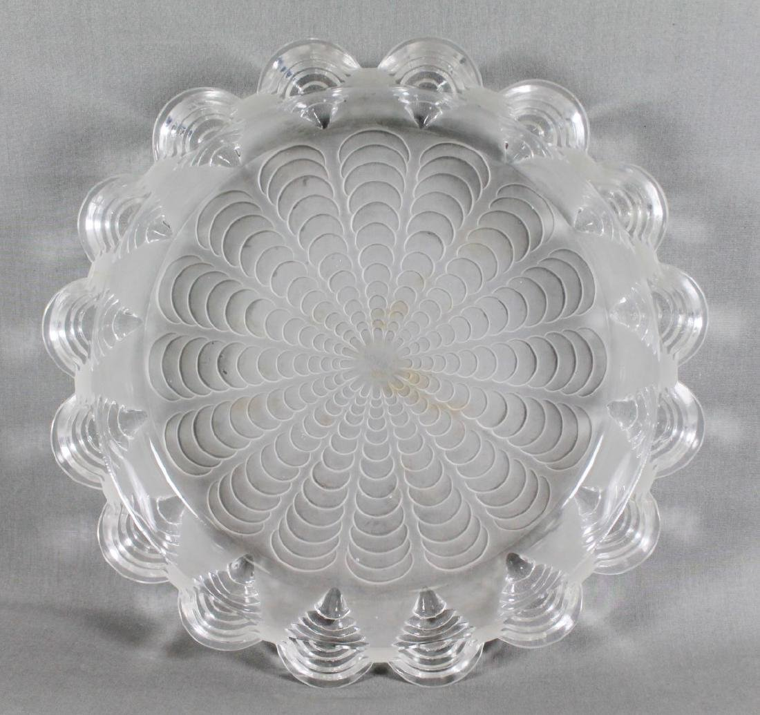"13"" R. LALIQUE CENTER BOWL"