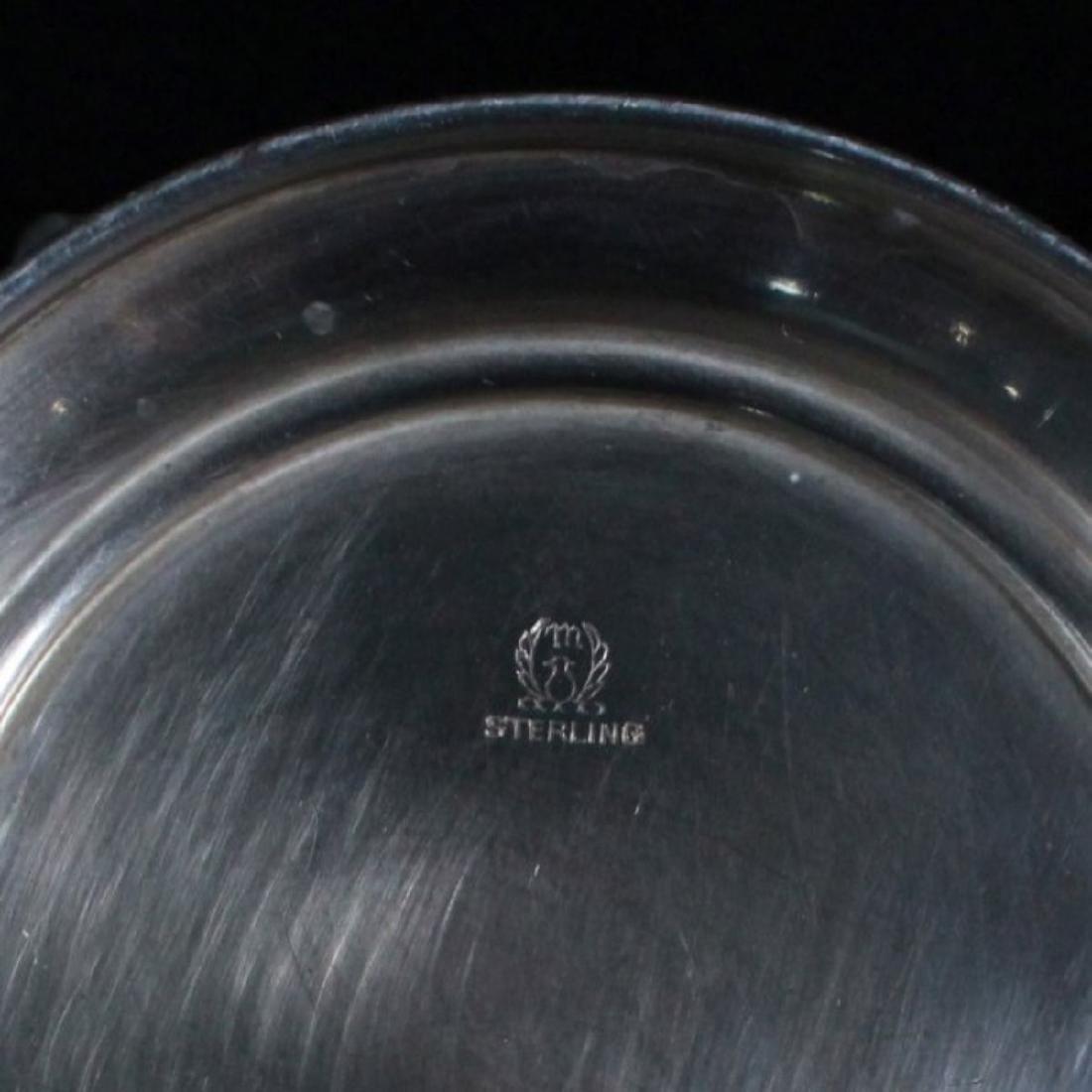 SET OF 6 STERLING SILVER RAMEKIN HOLDER - 5