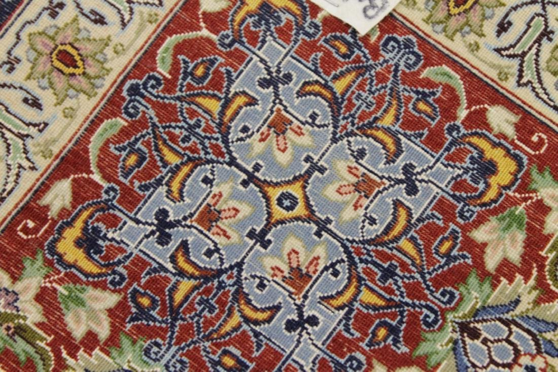 Persian ISFAHAN High-End Wool & Silk Traditional 5' x - 6