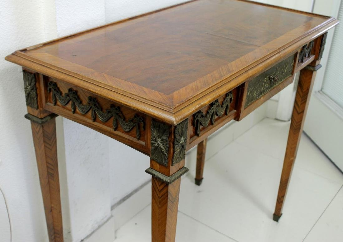 19TH C. FRENCH LOUIS XV STYLE WRITING TABLE - 4