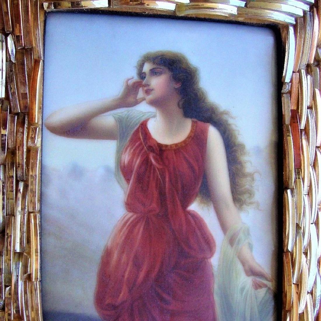 Antique Porcelain KPM Plaque Wagner - 6
