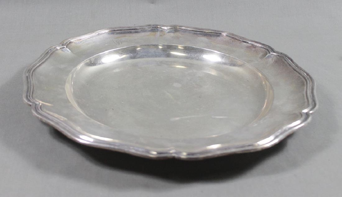 .800 SILVER FOOTED DISH - 3
