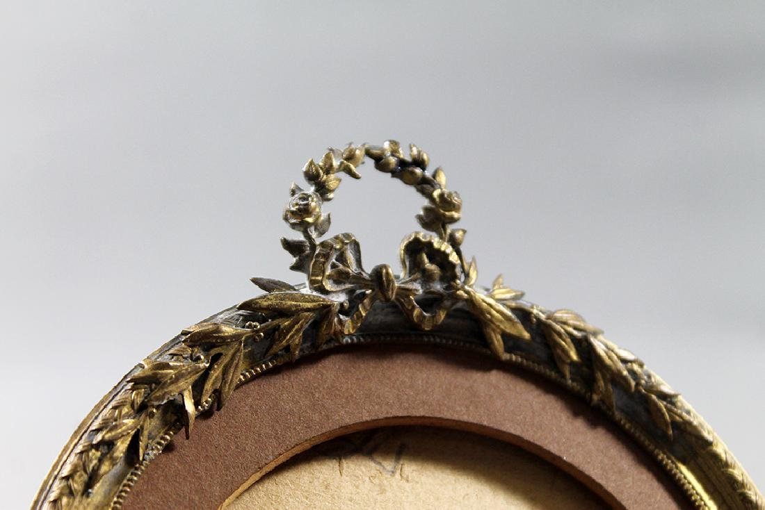 Bronze picture frame - 2
