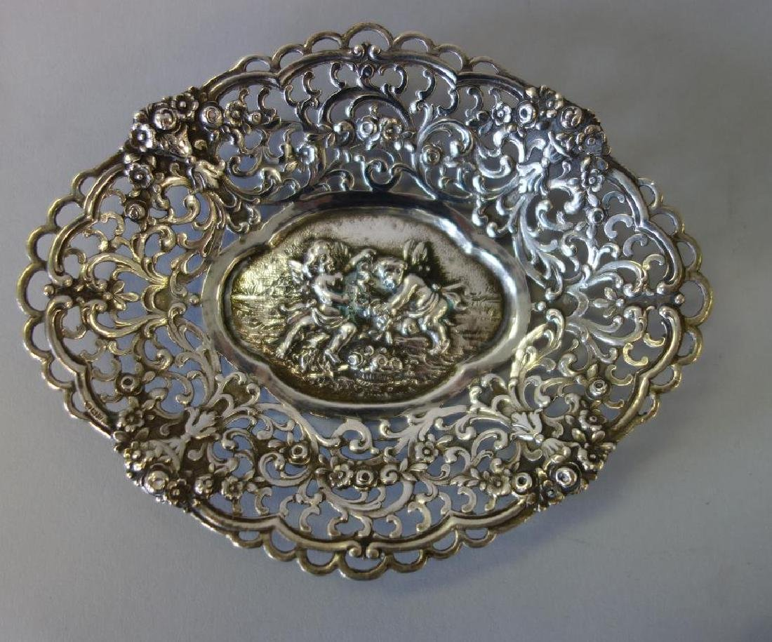 Continental silver nut / candy dishes - 2