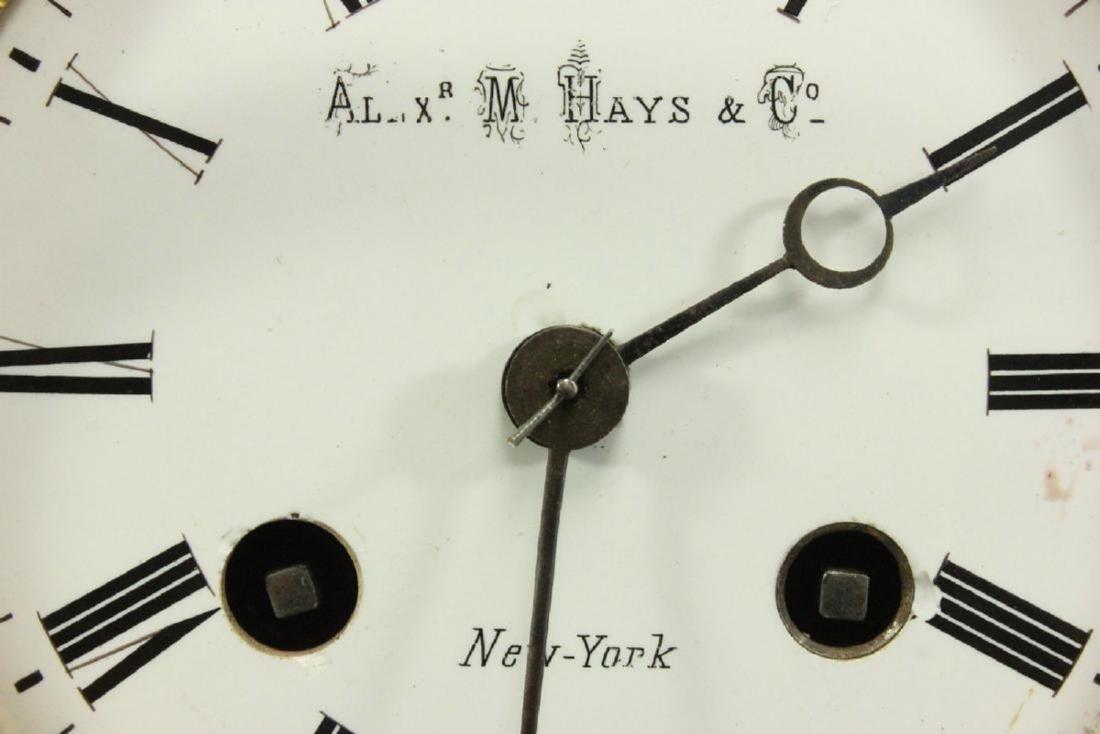 Porcelain Figural Clock - 4