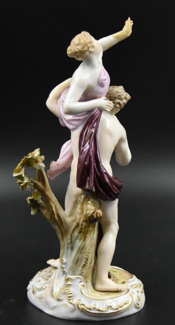 Meissen woman and man Porcelain
