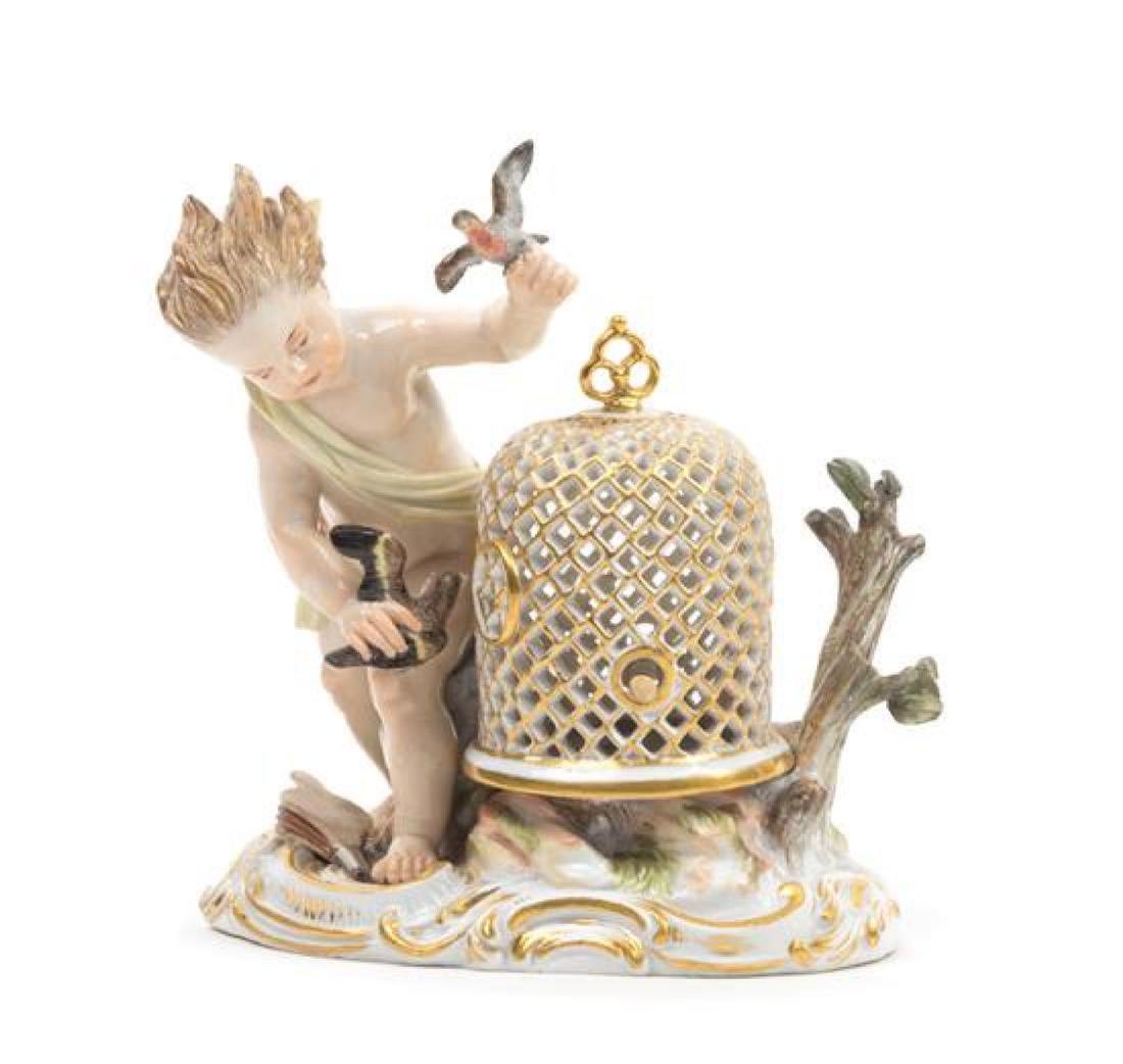 A Meissen Porcelain Figural Group