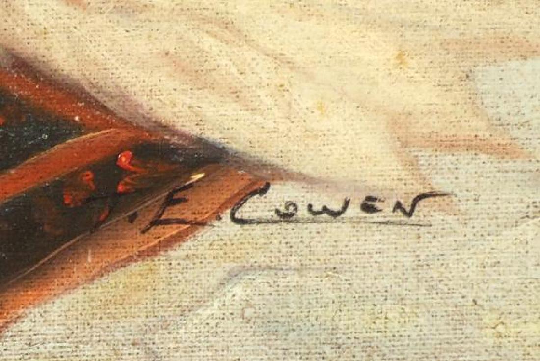 Cowen T.E (20thc); Orientalist Harem Scene - 2