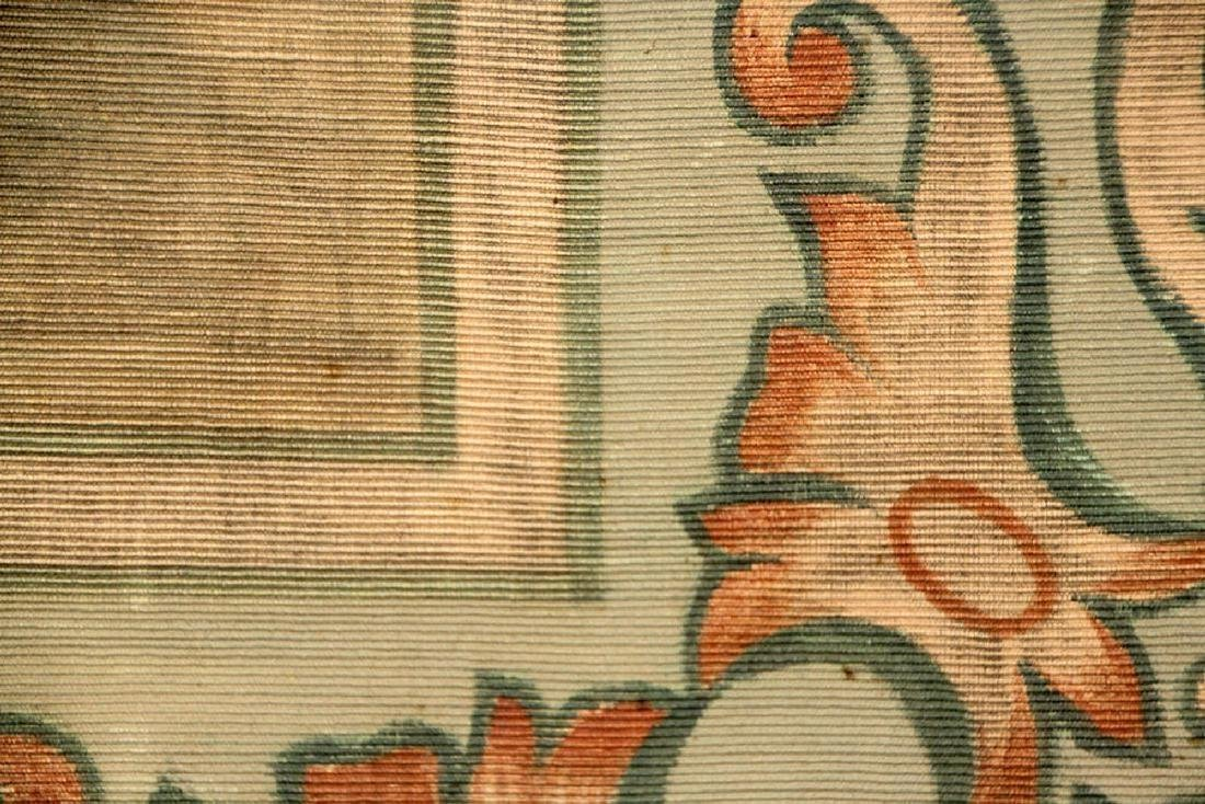 Art Nouveau Painted Tapestry - 2