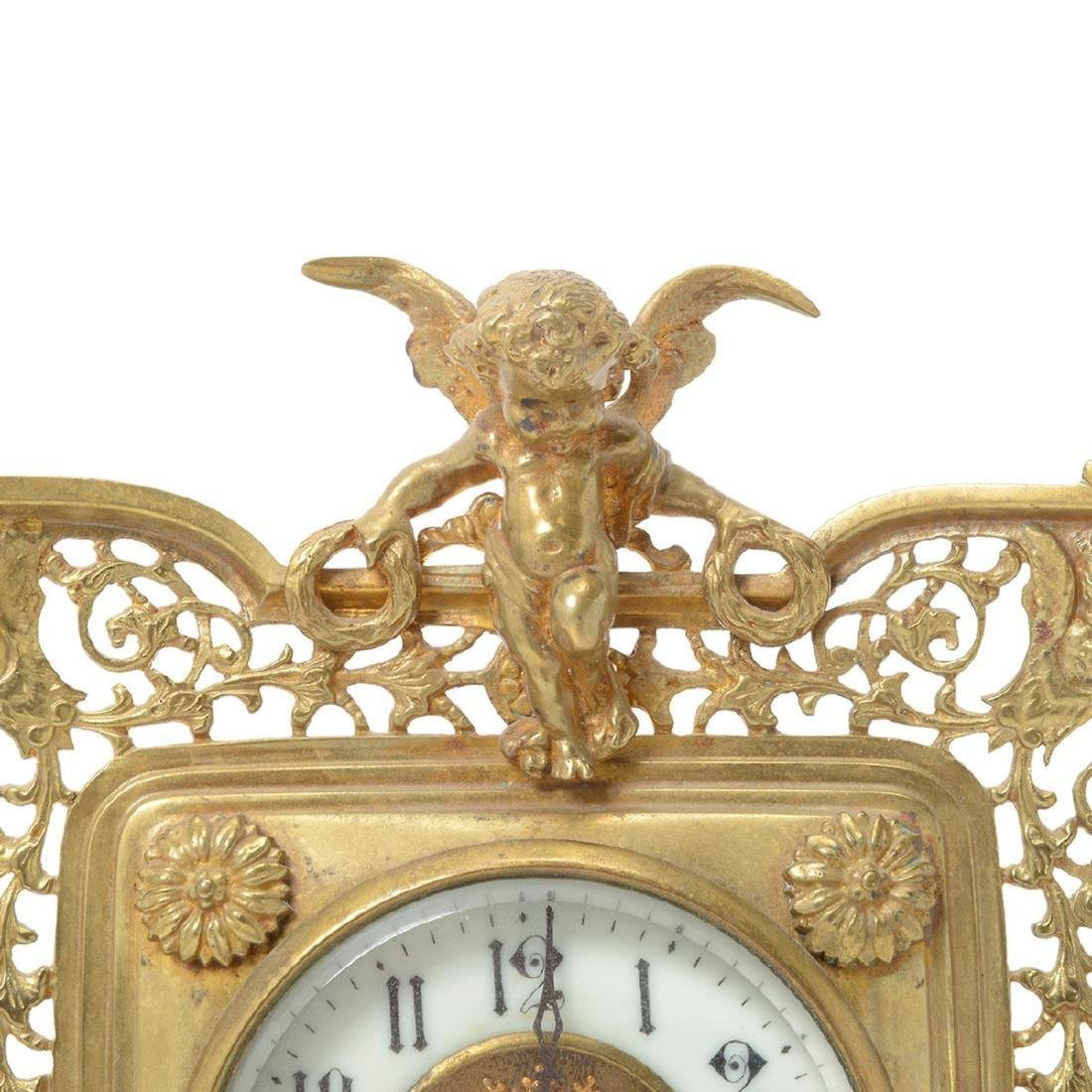 Three Louis XV Style Figural Clocks - 6