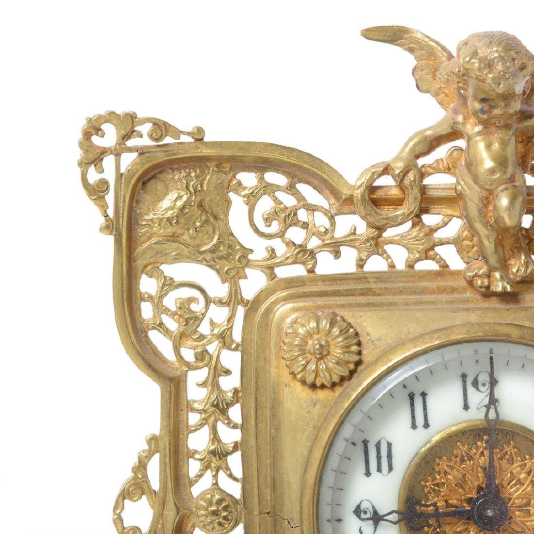 Three Louis XV Style Figural Clocks - 7