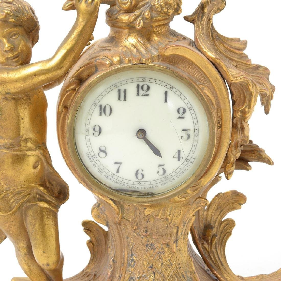 Three Louis XV Style Figural Clocks - 8