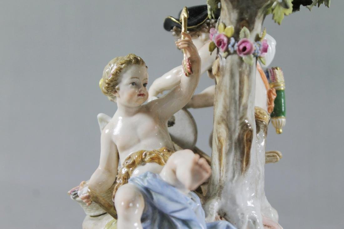MEISSEN GROUP OF CHERUBS - 2