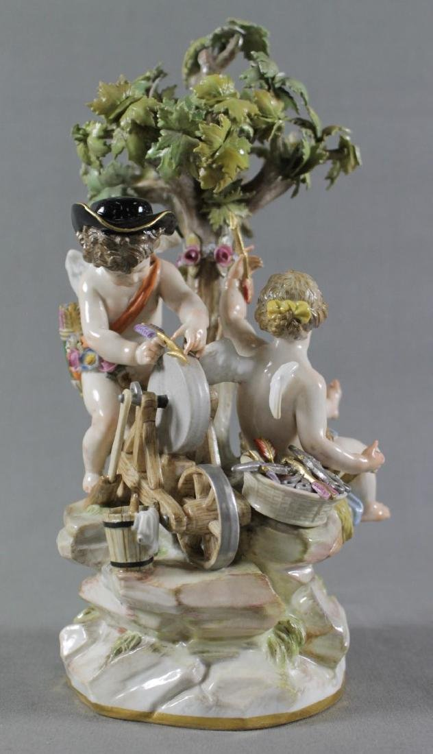 MEISSEN GROUP OF CHERUBS - 4