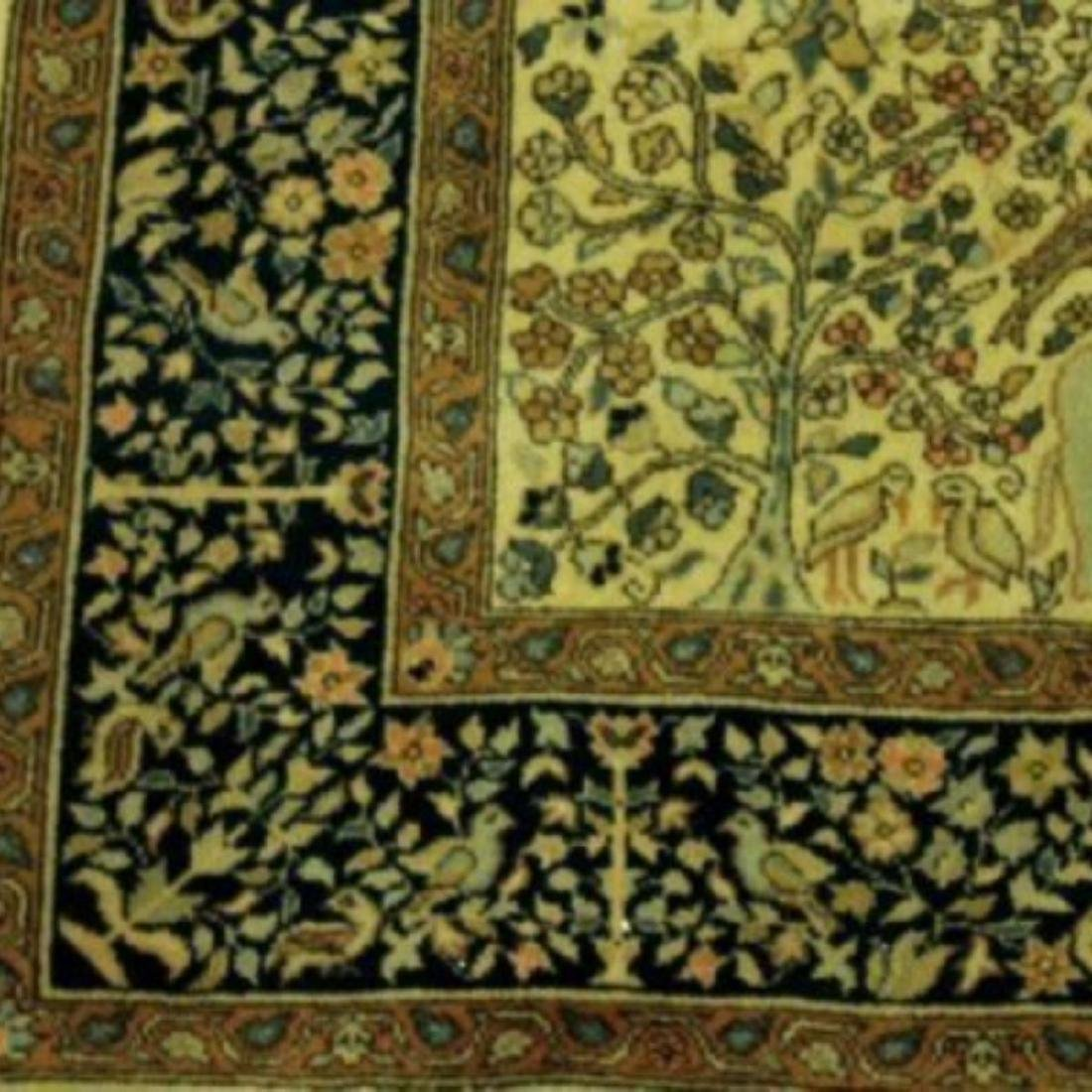TURKISH TREE OF LIFE RUG - 3