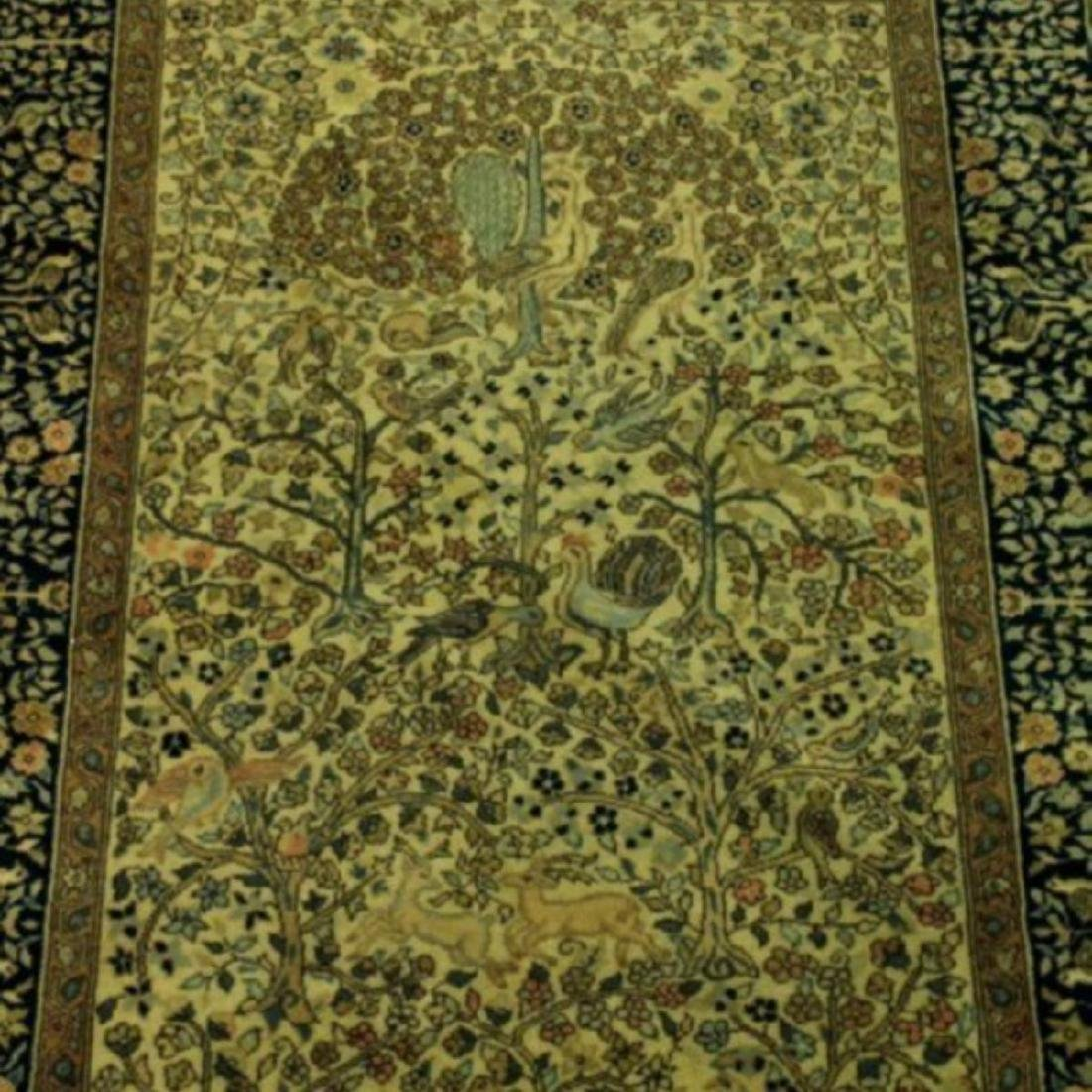 TURKISH TREE OF LIFE RUG - 4