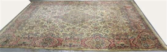 Circa 1930s Kerman Rug / Carpet