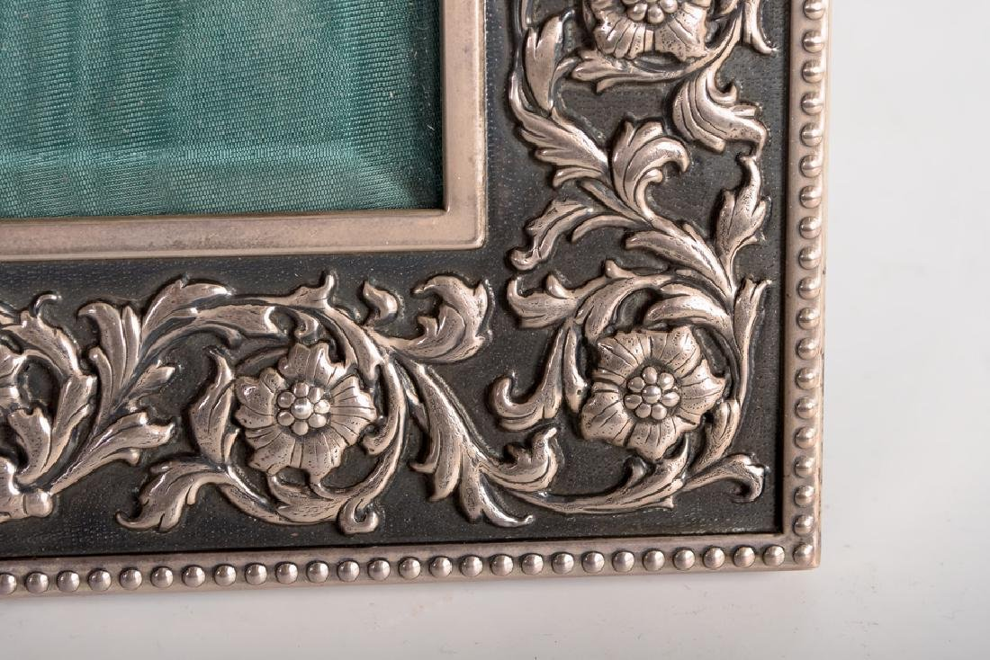 BUCCELLATI STERLING SILVER PICTURE FRAME - 5