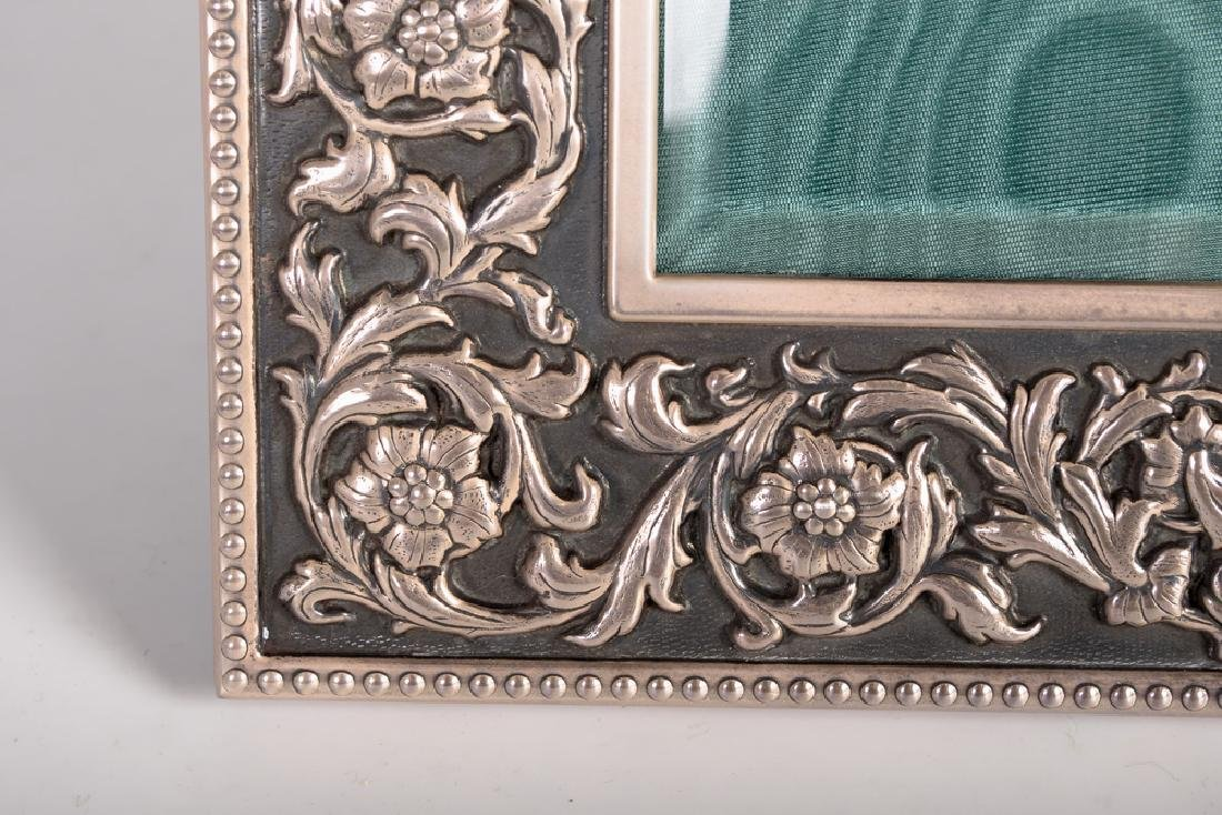 BUCCELLATI STERLING SILVER PICTURE FRAME - 6