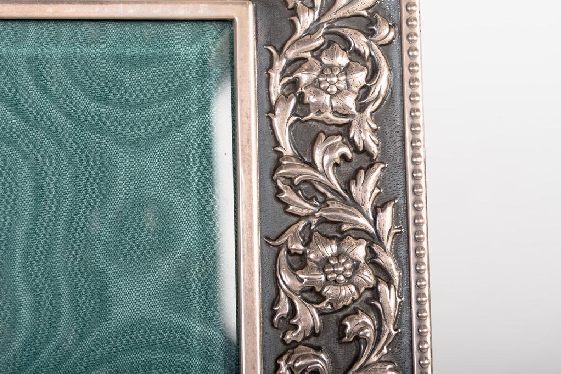 BUCCELLATI STERLING SILVER PICTURE FRAME - 7