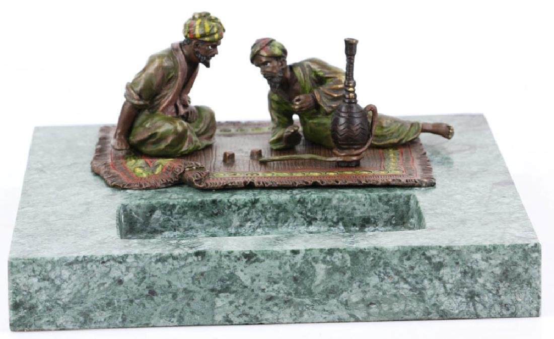Austrian Vienna cold painted bronze in the manner of