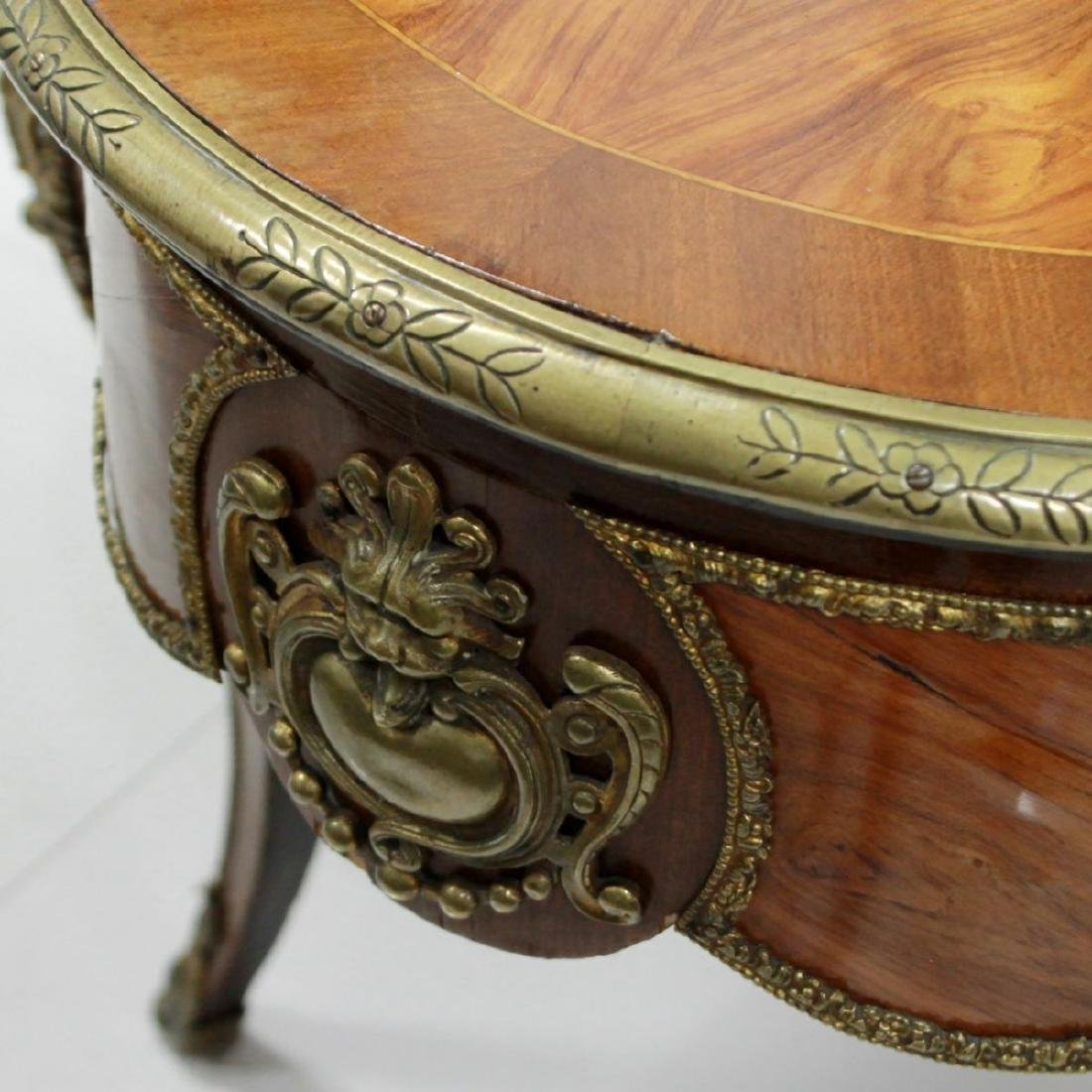 FRENCH INLAID CENTER TABLE - 4