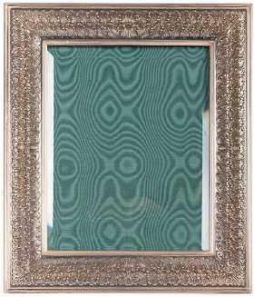 Vintage Sterling Silver Frames Shelves Wall Decor For Sale
