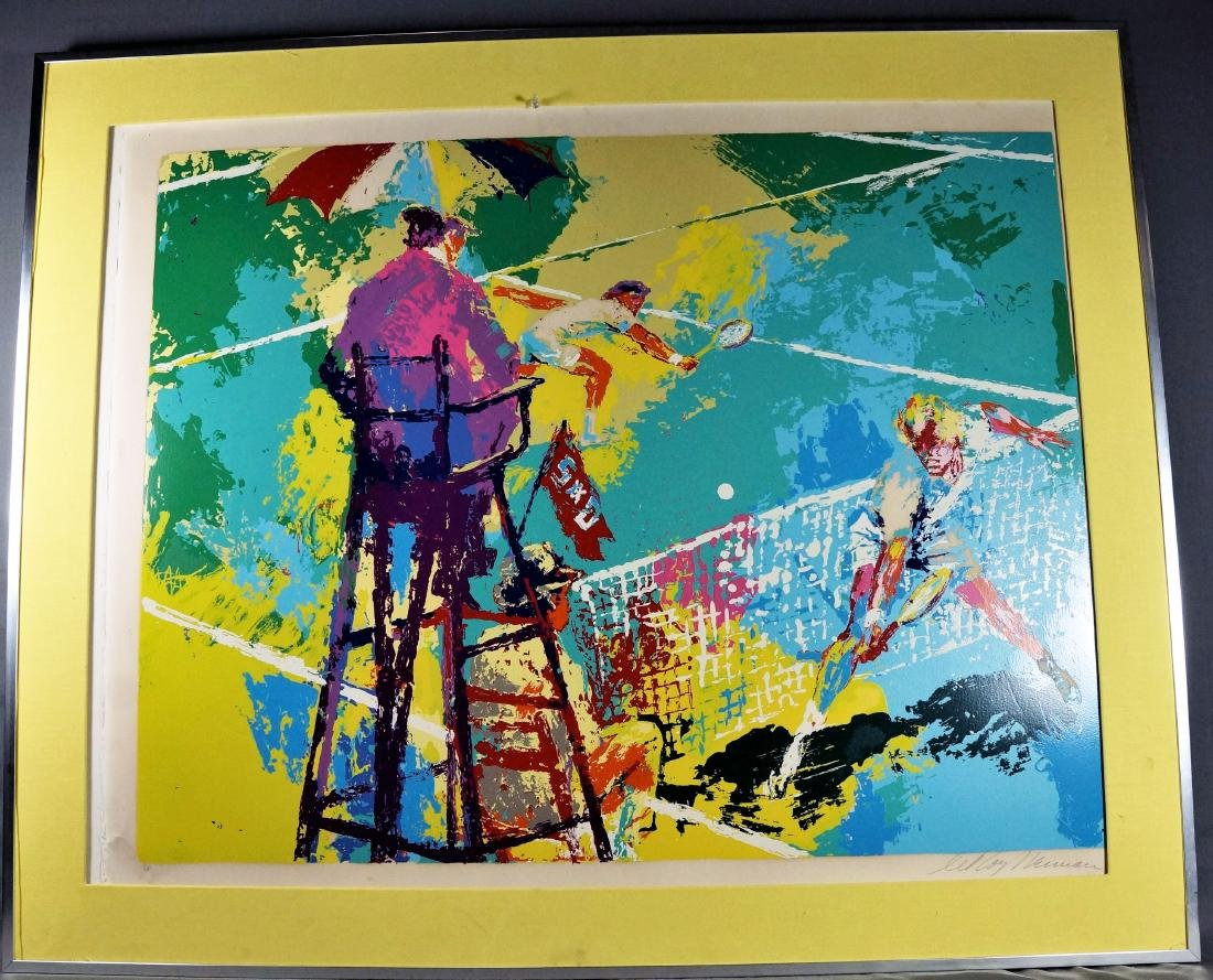 Signed Neiman Bellavia Painting