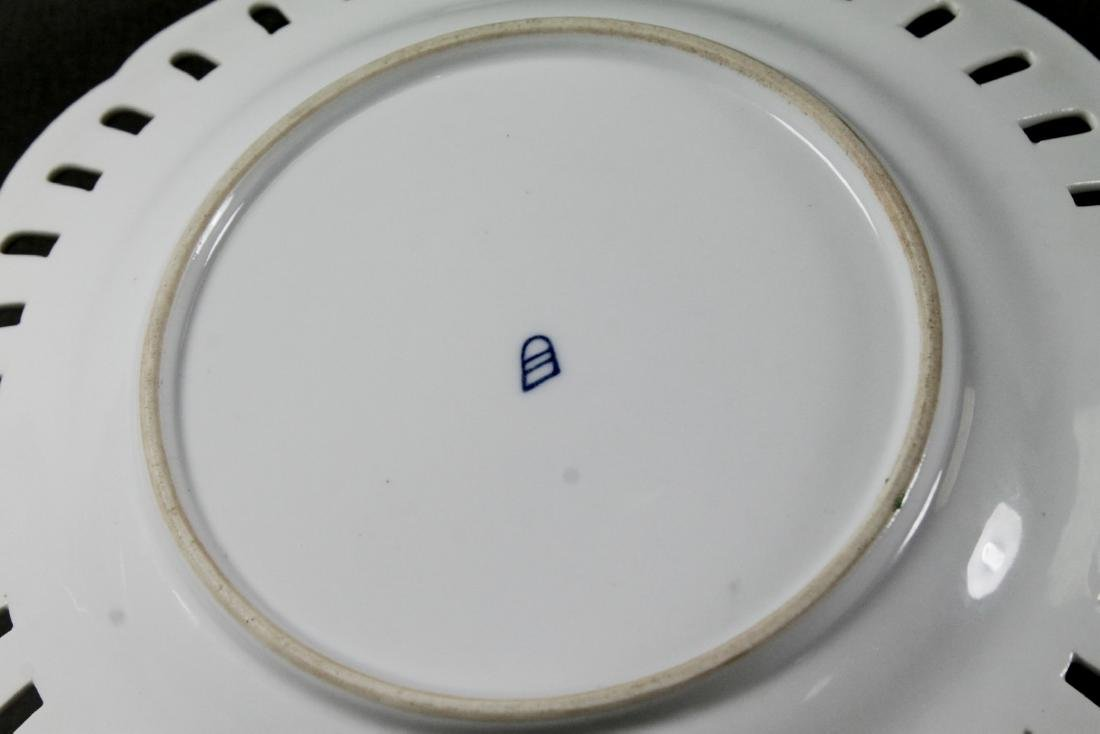 ROYAL VIENNA RETICULATED PLATE - 4