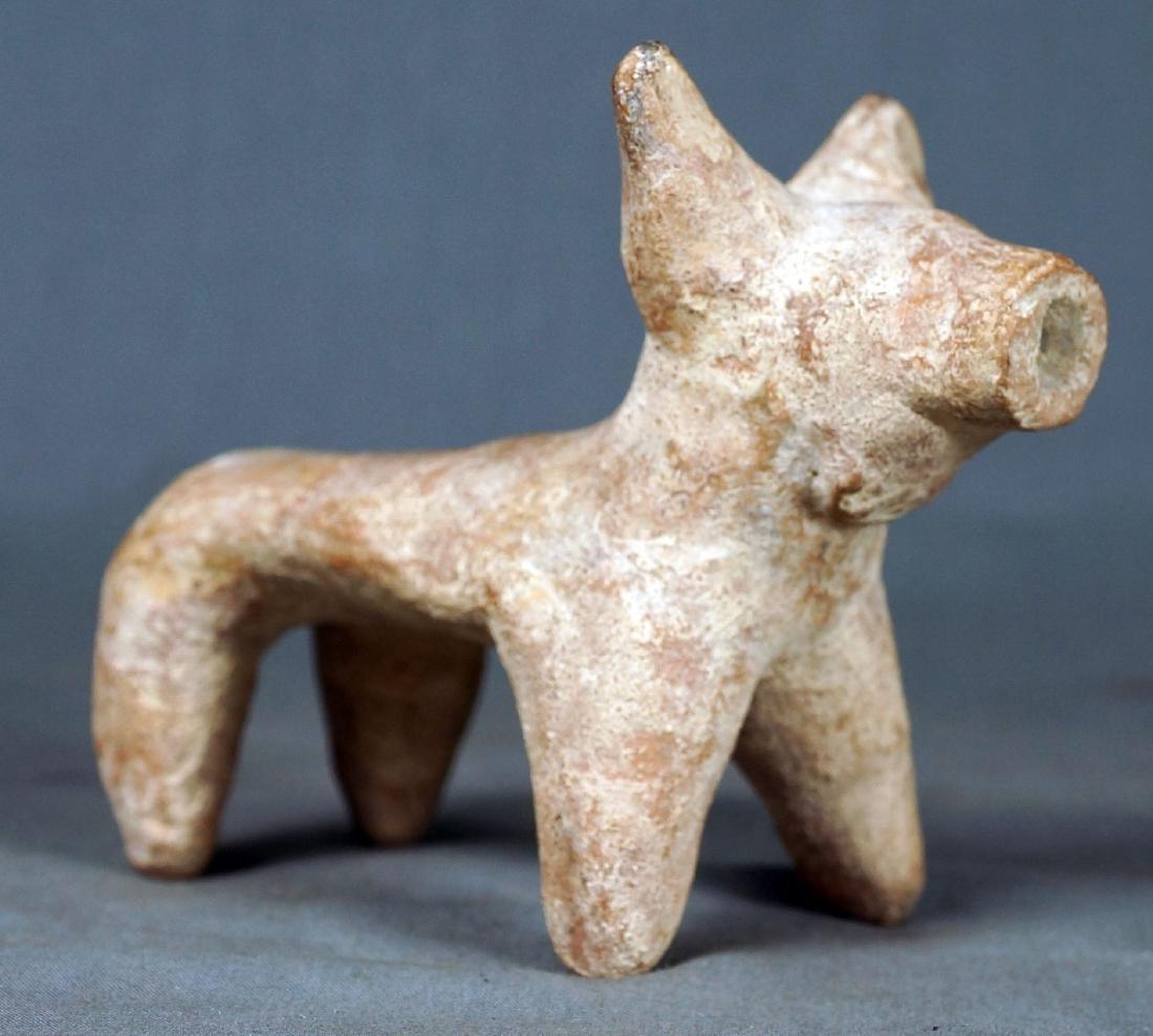 ISRAELI OR EGYPTIAN CERAMIC ANIMAL FIGURE