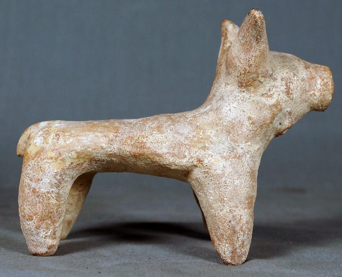 ISRAELI OR EGYPTIAN CERAMIC ANIMAL FIGURE - 3