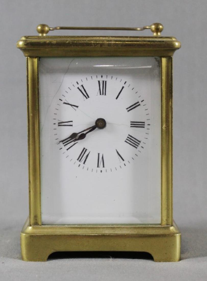 Small Brass Carriage Clock - 2