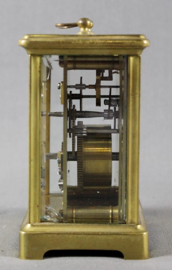 Small Brass Carriage Clock - 3