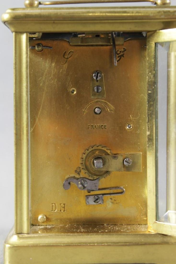 Small Brass Carriage Clock - 5