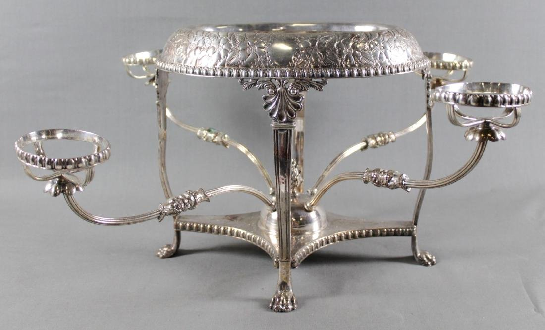 Silver Plated Epergne Base