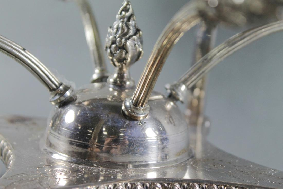 Silver Plated Epergne Base - 3