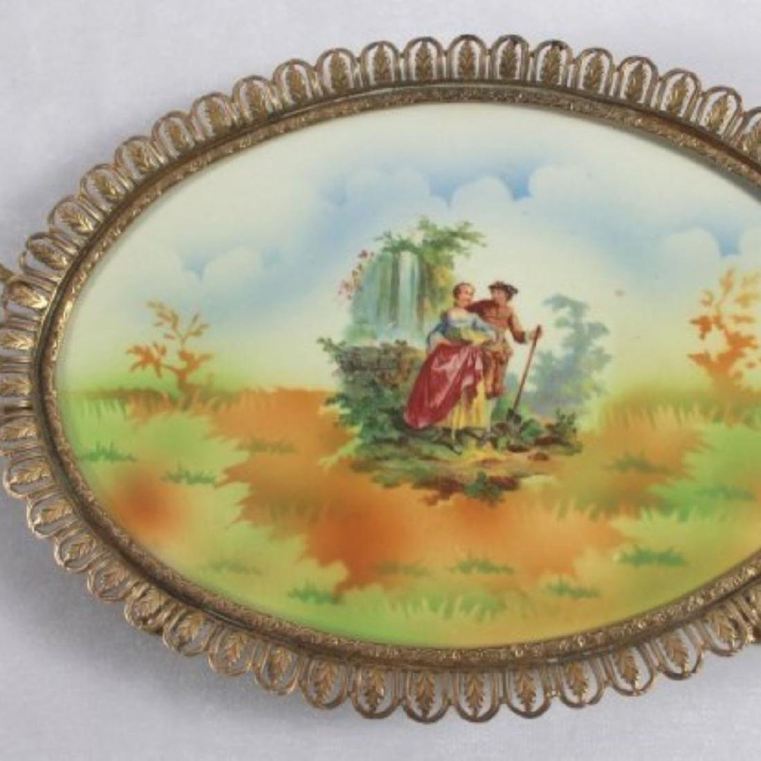 Sevres Style Centerpiece Tray - 2