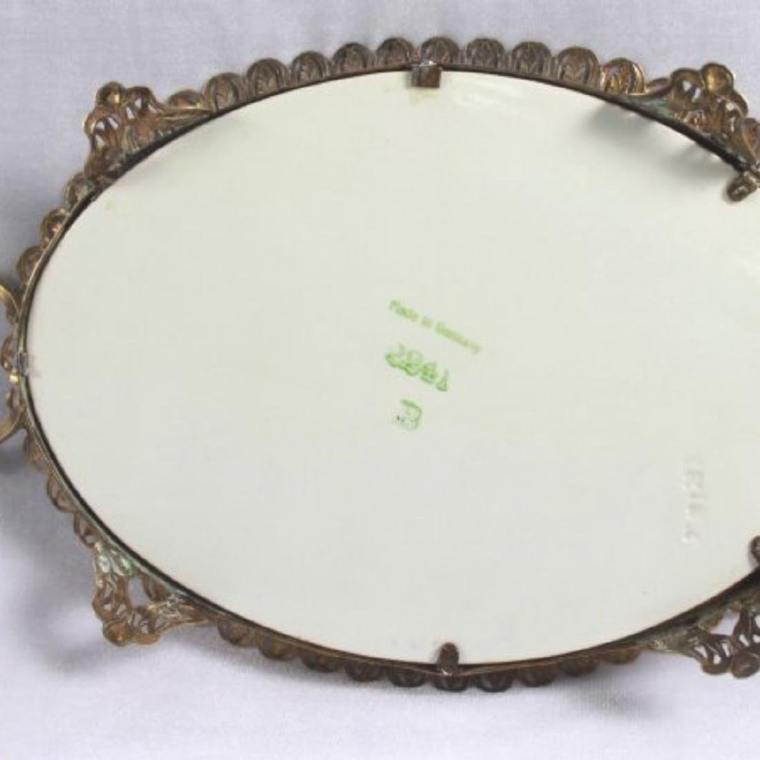 Sevres Style Centerpiece Tray - 7