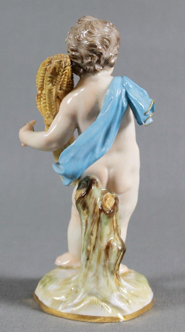 Meissen Porcelain Emblematic Figure Late 19Th/Early - 3