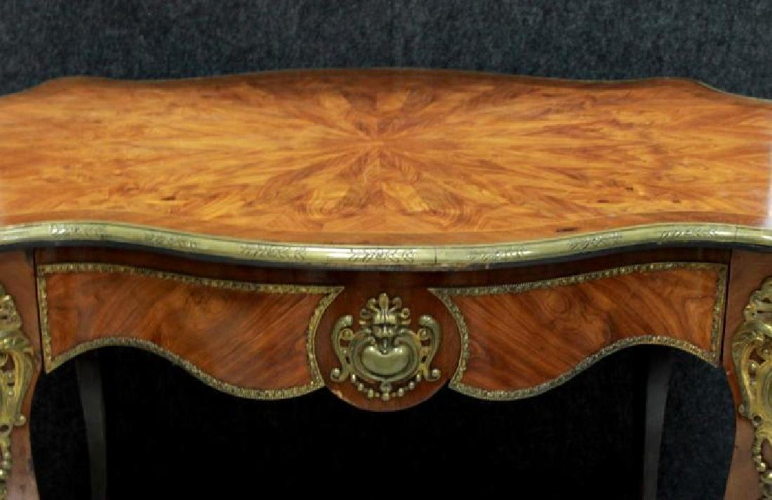French Inlaid Center Table - 2