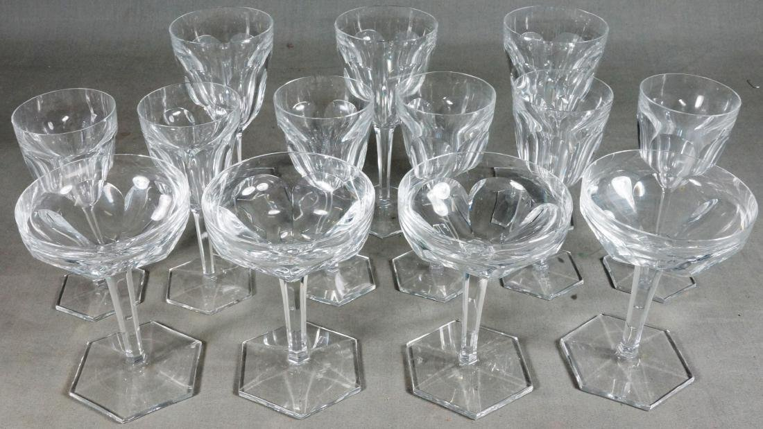 10 Pieces Of Baccarat Crystal