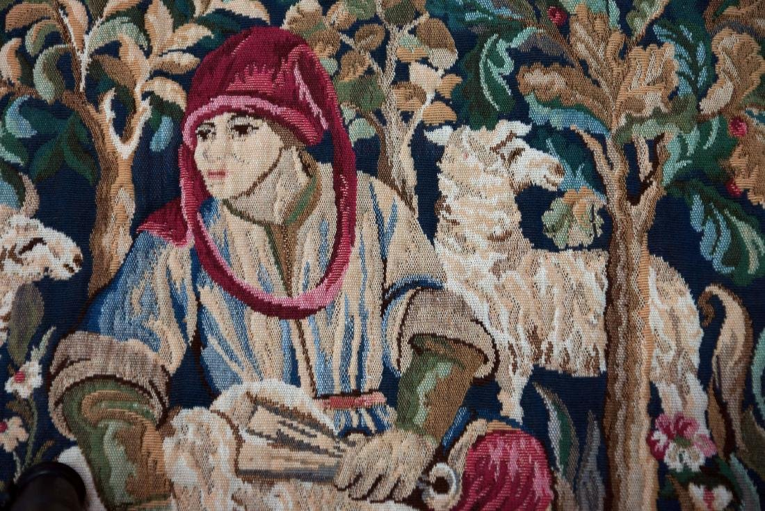 """French Tapestry""""Les Moutons"""" - 4"""