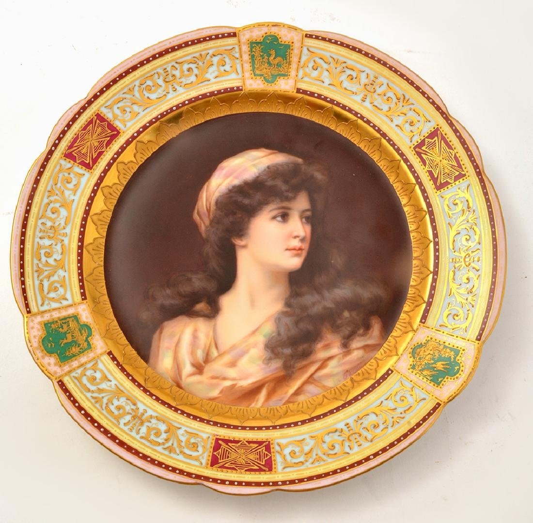 Royal Vienna Plate