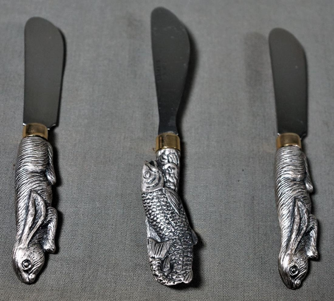 Three Animal Butter Knives