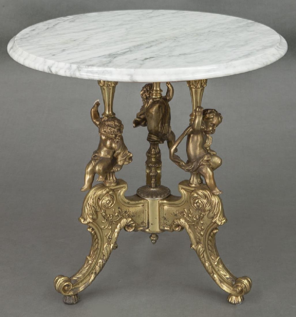 Louis XV style occasional table - 2