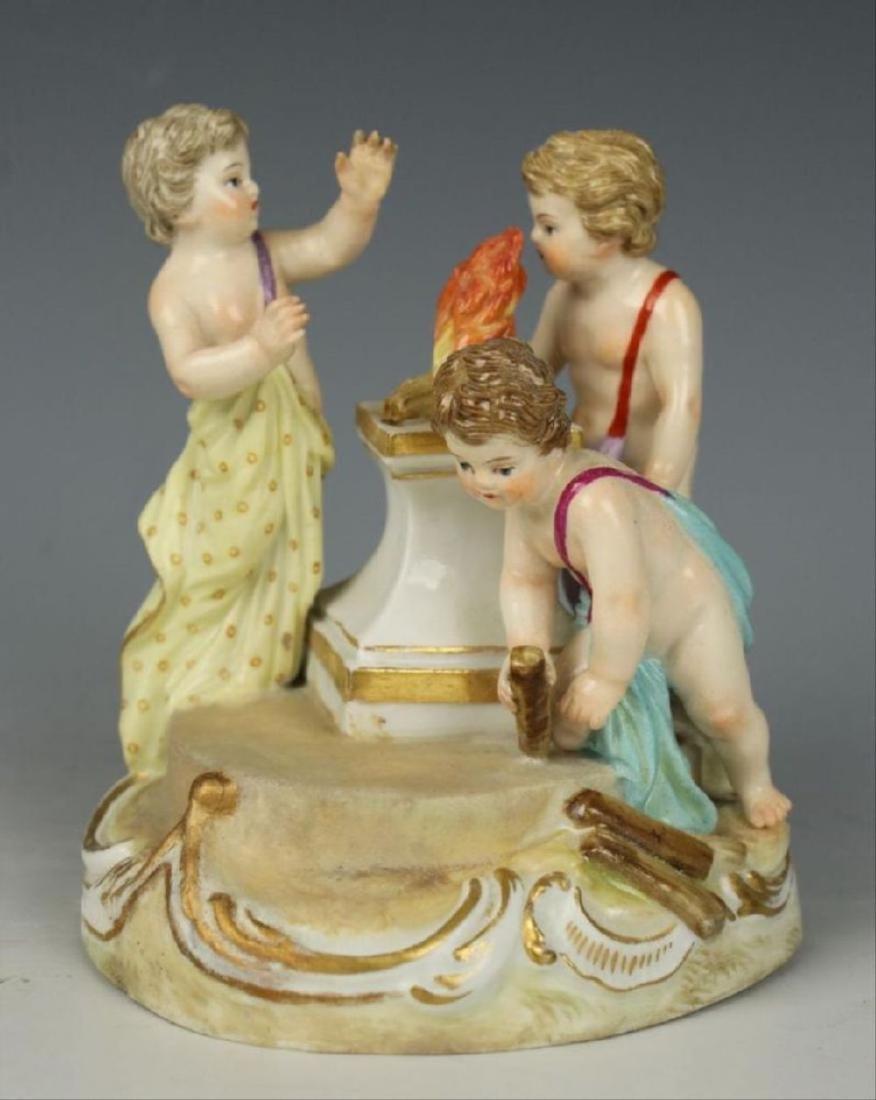 """Meissen Figurine """"Winter"""""""