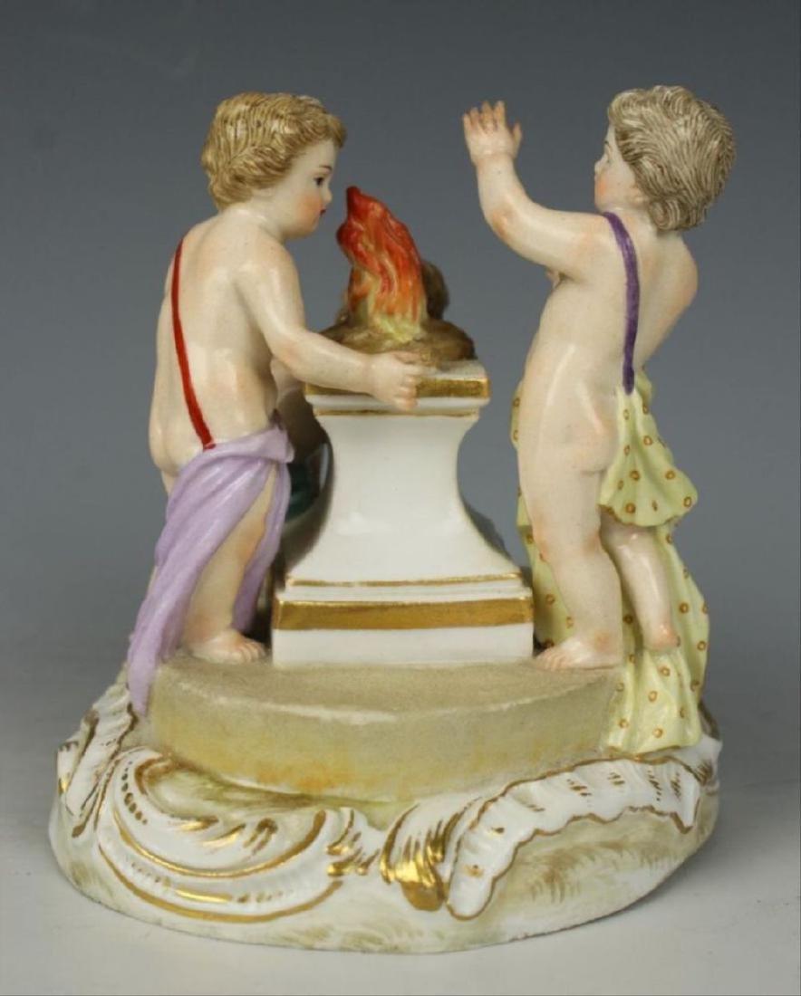 """Meissen Figurine """"Winter"""" - 4"""