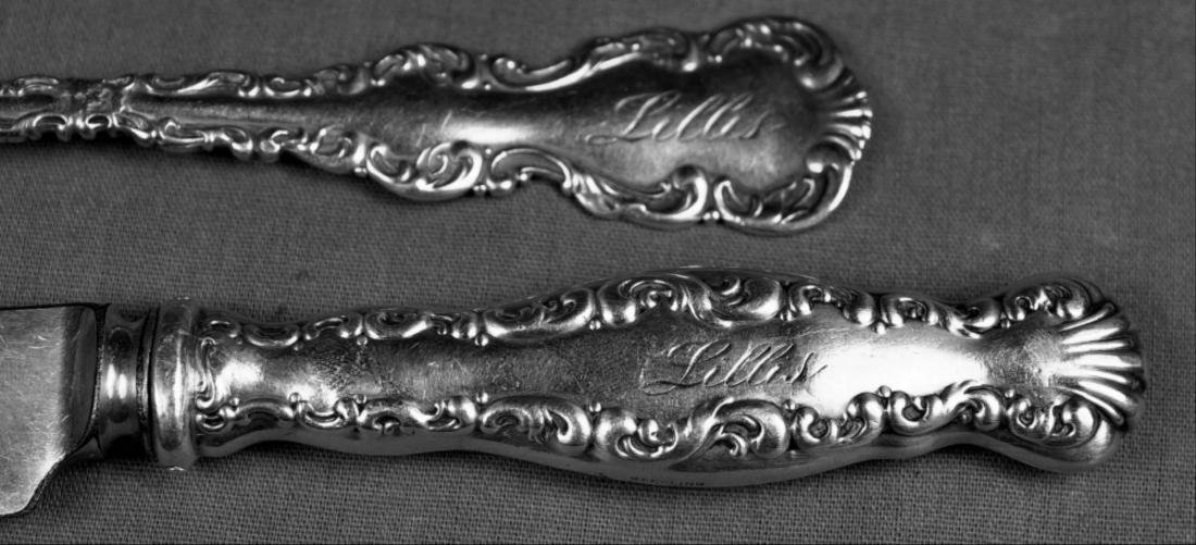 33 Pieces Of Sterling Flatware - 10